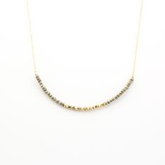 Dawn Pyrite Necklace | Masha Moon