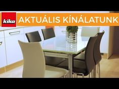 (57) Aktuális termékkínálatunk - Étkezőszékek | Kika Magyarország - YouTube Dining Table, Youtube, Furniture, Home Decor, Homemade Home Decor, Diner Table, Dinning Table Set, Home Furnishings, Dining Room Table