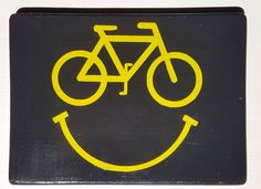 Wooden Bike Sign, Bicycle gift, wooden sign, cyclist gift, bike sign, bike décor, bike enthusiast gift, bike home décor, bike smiley face by PersonalTouch777 on Etsy