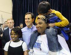 Photo #36 #prezpix #prezpixrs election 2012 candidate: Rick Santorum publication: Los Angeles Times LA Times photographer: Larry W. Smith European Pressphoto Agency publication date: 3/9/12
