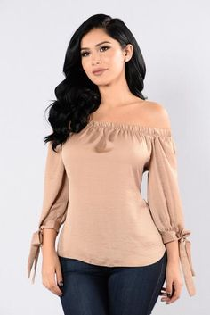 Motown Top - Sand | Fashion Nova