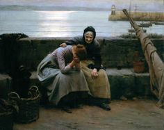 Never Morning Wore to Evening but Some Heart Did Break, by Walter Langley. 1894.