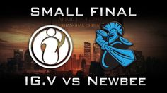 Newbee vs IG.V Small Final DAC 2017 Highlights Dota 2