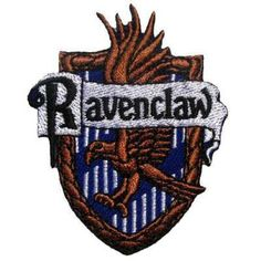Harry Potter School Crest Gryffindor Hufflepuff Slytherin Ravenclaw Iron On Sew On Applique Embroidered Patch Badge Large Size (Ravenclaw) Harry Potter Patch, Harry Potter Crest, Harry Potter School, Harry Potter Magic, Harry Potter Cosplay, Harry Potter Houses, Hermione Costume, Pin And Patches, Sew On Patches
