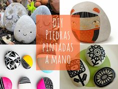 Paint and Decorate Stones by hand. Basic Tips and Ideas Bonitas Stone Painting