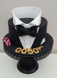 James Bond - Cake by The Buttercream Pantry                                                                                                                                                      More