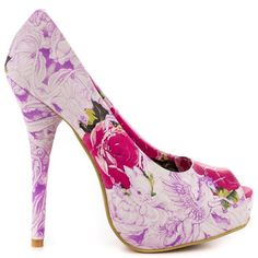 Iron Fist - Cotton Candy - Peep Toe - New Official