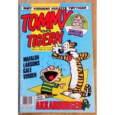 Tommy & Tigern: 1990 - Nr. 5 - Møt verdens kuleste tøytiger