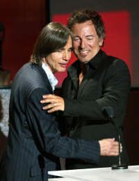 jackson browne - being inducted into the HOF by Bruce Springsteen