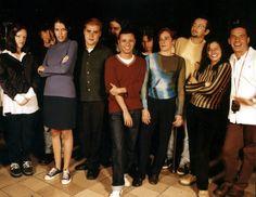 Ywebarte. Formação de 1997: Gladys Raug, Nenna, Janaína Assis, Herbert Fieni, Flávio Sarcinelli, JeanR., Joel Vieira Jr, Sheila Mara, Eduardo Cozendey, Flávia Carvalinho e Robero Burura.