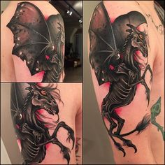 Image result for harry potter thestrals tattoo #CoolTattooIdeas