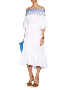 Pallas off-the-shoulder dress | Peter Pilotto | MATCHESFASHION.COM