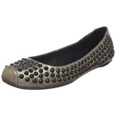 $250.00-$250.00 Rock & Republic Women's Bay Ballet Flat,Pewter,38.5 EU/8.5 M US -   Show them you know how to play naughty and nice in these Rock & Republic Bay Studded flats.  Leather upper.  Easy slip-on style.  Striking stud accents.  Squared toe.  Leather lining and insole.  Leather sole.  Imported.  Weight : 5 3⁄5 oz  Product measurements were taken using size 38.5 (US 8). Please note that me ...