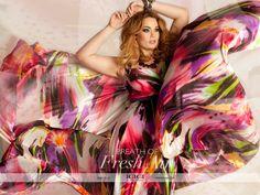 IGIGI by Yuliya Raque's Tropical Beauty Maxi Dress