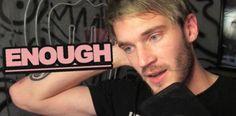 La estrella de YouTube PewDiePie amenaza con cerrar su cuenta...
