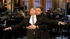 Leonardo DiCaprio reenacts classic 'Titanic' scene with Jonah Hill on 'SNL'