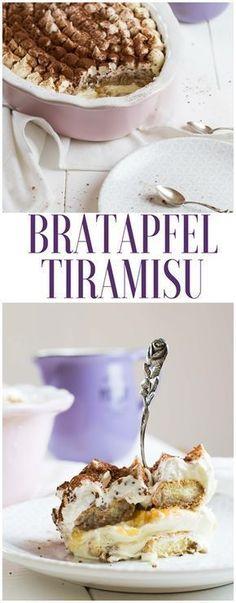 Rezept für Bratapfel Tiramisu. Schnell gemacht und super lecker!