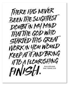 Philippians 1:6 NEW