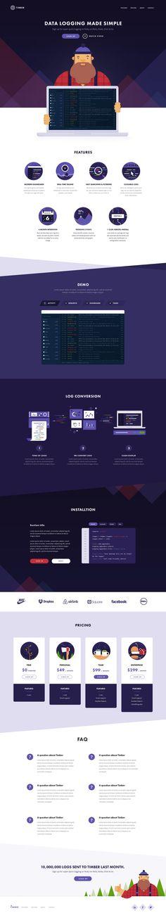 Timber Website – SiteUp