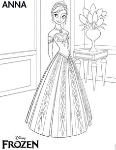 FREE #Frozen Printables - Coloring pages, invitations, thank-you tags, stickers, cupcake toppers, large Frozen images, Elsa and Anna crown, printable games and crafts.