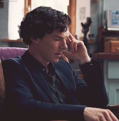 Last Vow - I believe here is when Sherlock is playing out scenarios with Magnussen in his head.