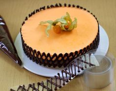 ¿Cómo decorar tu pastel con enrejado de chocolate?