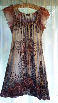 Kara Jane - Pretty Dress (Sz S) by typsygypsymarie on Etsy