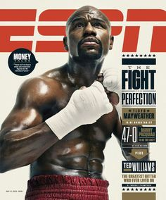Sports Magazine Covers: Floyd Mayweather