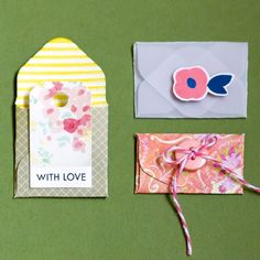 Some fresh and easy ways to stretch your envelope punch board! New measurements and step photos!