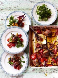 Hit 'n' run traybaked chicken | Jamie Oliver