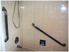 Bathroom grab bars are highly beneficial to elderly people as it gives support to move around without falling or slipping. It is also useful to people with movement disabilities as maneuvering around the restroom or bathroom can prove to be dangerous without proper support. Grab bars or hand rails are quite useful to people who lack the ample amount of strength to move around.