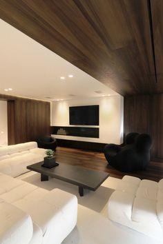 Private house in Penteli/Athens by Omniview Deco, Athens, Interior Livingroom, Wood Veneer, Living Room, Architecture, House, Design, Arquitetura