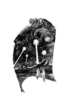 70s Sci-Fi Art: John Schoenherr, for The Illustrated Dune.