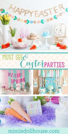 Easter themed party