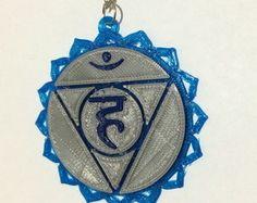Colar Chakra Laríngeo *** Peças personalizáveis, feitas através de impressora 3D