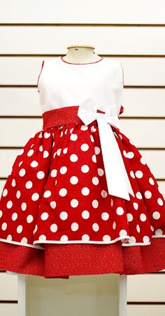 ideas skirt pencil outfit casual polka dots for 2019 Little Girl Dresses, Girls Dresses, Baby Dress Patterns, Kids Frocks, Mom Dress, Toddler Dress, Kind Mode, Cute Dresses, Kids Fashion