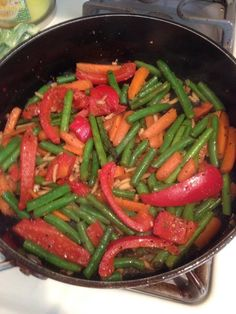 Dinner on Day 1 of the Beachbody 3-Day Refresh: Veggie Stir-fry.  Don't you just love when your food not only tastes good, but it LOOKS good, too??   This recipe comes with the 3 Day Refresh program, along with other suggested dinner recipes.   This is definitely a cleanse I can handle. :)  www.beachbodycoach.com/tmccann