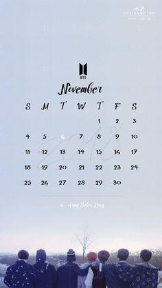 Bts Calendar, Calendar Board, 2019 Calendar, Calendar Ideas, Bts Wallpaper Desktop, Calendar Wallpaper, Wallpapers, Amy Day, Printable Calendar Pages