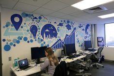 5 empresas com escritórios criativos e inspiradores - Quando pensamos nos escritórios de grandes empresas e marcas, a primeira imagem que nos vem à mente é de um espaço fechado, conservador, tradicion...