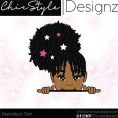Peekaboo Star- Peekaboo girl svg peek a boo girl peeking girl svg girl African American girl svg peekaboo kids svg curly hair afro natural Black Girl Cartoon, Black Girl Art, Black Women Art, Black Girl Magic, Black Art, Peekaboo Kids, Drawings Of Black Girls, African American Girl, American Art