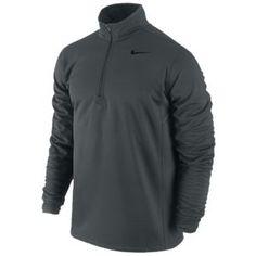 Nike Sphere Half-Zip Top - Men's - Anthracite/Black