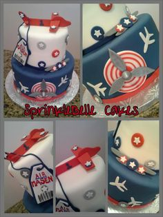Naviator Airplane Cake