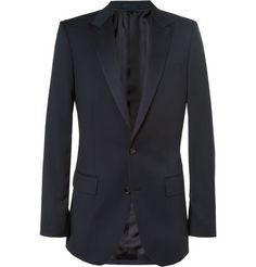 J.Crew Ludlow Slim-Fit Wool Tuxedo Blazer | MR PORTER