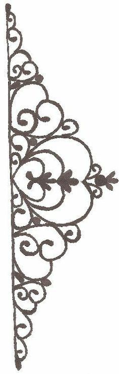 templatestencil for chocolate decorations - Chocolate Decorations