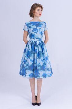 Image of Hannah - Brocade Cocktail Dress