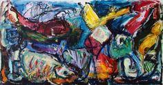 "Saatchi Art Artist Gerd Semal; Painting, ""The Crash"" #art"