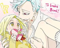 Find images and videos about couple, anime and nanatsu no taizai on We Heart It - the app to get lost in what you love. Otaku Anime, Manga Anime, Anime Art, Seven Deadly Sins Anime, 7 Deadly Sins, I Love Anime, Me Me Me Anime, Ban E Elaine, Brand Design