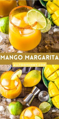 Mango Margarita, Margarita Recipes, Cocktail Recipes, Food N, Food And Drink, Mexican Cocktails, Chili Lime, Summer Drinks, Bon Appetit