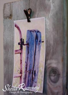 Barn Wood Photo HoldersBarn Wood Photo Holders Tutorial - using 7 gypsies clips. www.sheilarumney.com