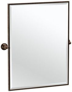 Gatco Tiara Bronze 28 1/4-Inch x 32 1/2-Inch Wall Mirror